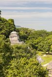 Le temple maya ruine Palenque Photo stock