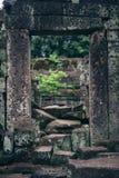 Le temple ruine la voûte Photographie stock
