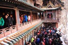 Le temple s'arrêtant Image libre de droits