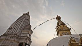Le temple sur la côte de singe Photos stock