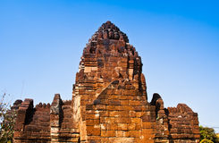 Le temple thaï est très vieux. Image stock