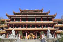 Le temple tianzhuyan Photos stock