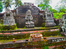Le temple traditionnel dans Batuan, Bali, Iindonesia photo libre de droits