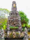 Le temple traditionnel dans Batuan, Bali, Iindonesia image stock