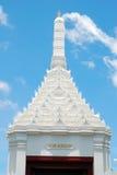 Le temple vert de Bouddha Photos stock