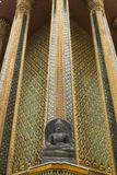Le temple vert de Bouddha Photographie stock