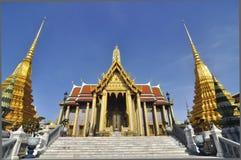 Le temple vert de Bouddha, Bangkok Photo libre de droits