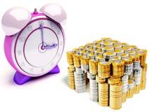 Le temps, c'est de l'argent Photo libre de droits