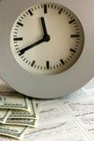 Le temps, c'est de l'argent Images libres de droits