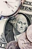 Le temps, c'est de l'argent Image libre de droits