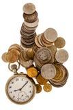 Le temps, c'est de l'argent Photos libres de droits