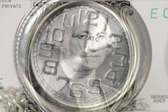 Le temps, c'est de l'argent 7445 Photographie stock libre de droits