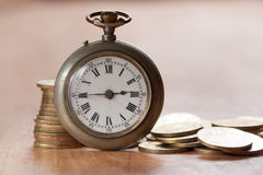 Le temps, c'est de l'argent concept Photo libre de droits