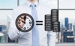 Le temps, c'est de l'argent concept Photos libres de droits