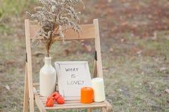 Le temps d'automne décorent Photo libre de droits