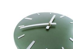 Le temps d'horloge moderne est fragment de 14.53 heures du matin Photographie stock libre de droits