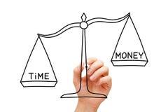 Le temps est plus précieux que l'argent Images stock