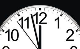 Le temps fonctionne Images libres de droits