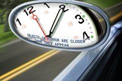 Le temps rattrape Photographie stock libre de droits