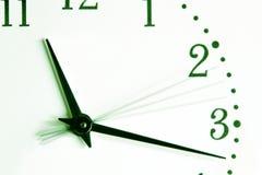 Le temps va Images stock