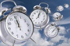Le temps vole Photo libre de droits