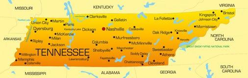 Le Tennessee Image libre de droits