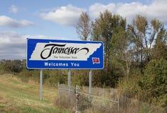 Le Tennessee, l'état volontaire Photos stock