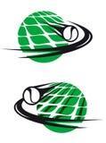 Le tennis folâtre des éléments Photographie stock libre de droits