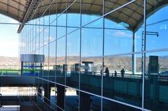 Le terminal à l'aéroport d'Alicante Images libres de droits