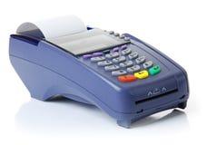 Le terminal avec un par la carte de crédit pur Photos libres de droits