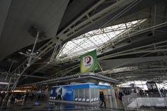 Le terminal d'aéroport de Porto, Portugal Photographie stock