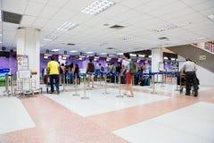 Le terminal de l'aéroport international de Phuket, Thaïlande Image libre de droits