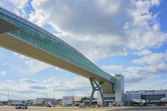 Le terminal du nord de l'aéroport de Gatwick Photo libre de droits