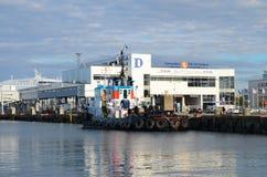 Le terminal pour passagers de Tallinn Photos libres de droits