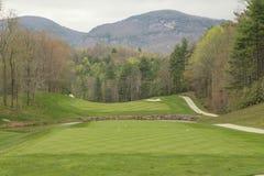 Le terrain de golf Photo libre de droits