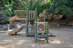 Le terrain de jeux aux pins jumeaux se garent, Belmont photo stock