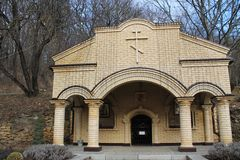 Le territoire du monastère Photographie stock