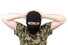 Le terroriste rendu image stock