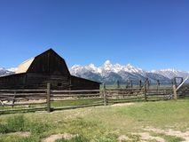 Le Tetons grand Image stock