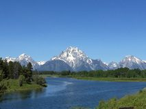 Le Tetons grand Photos stock