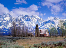 Le Tetons grand NP Images libres de droits