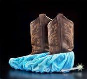Le Texan soigne Boots photo stock