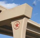 Le Texas d'un état à un autre, Etats-Unis Images libres de droits