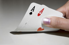 Le Texas les retiennent : American Airlines Photos stock