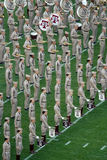 Le Texas A&M Fightin ' Texas Aggie Band Photo libre de droits