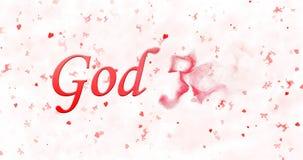 Le texte de Joyeux Noël dans Dieu norvégien juillet se tourne vers la poussière de r Photo libre de droits