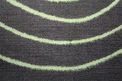 Le textile a rayé le détail beige brun et léger rayé Photos stock