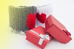 Le thème d'amour pour le jour de valentines Photos libres de droits