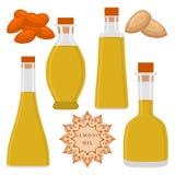 Le thème met l'huile en bouteille Photos libres de droits