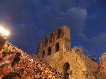 Le théâtre antique Photo stock